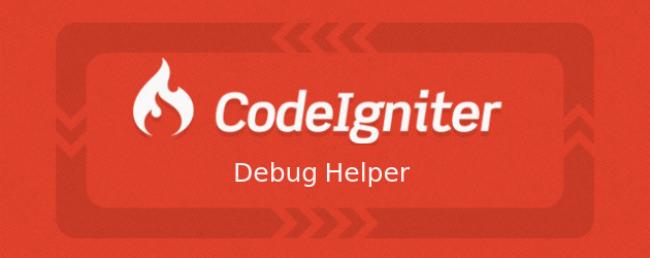 Codeigniter Helper ile Debug Yapımı