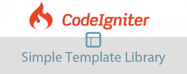 Codeigniter Simple Template Library