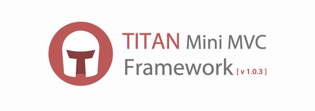Titan Mini MVC -  v1.0.3 Güncellemesi
